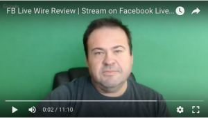 fb live wire review on Youtube